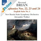 Brian: Symphonies Nos. 22, 23, 24 - English Suite No. 1