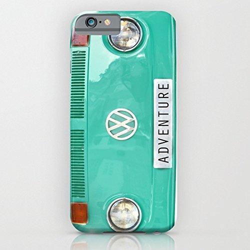 iPhone6sケース[4.7インチ] society6(ソサエシティシックス) Adventure wolkswagen. Summer dreams. Greenデザイナーズ iPhoneケース 正規輸入品