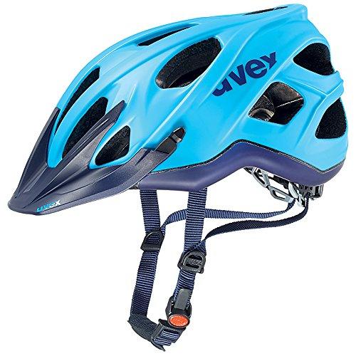 Uvex, Casco da ciclismo Stivo CC MTB, Turchese (Cyan-Marine Mat), 56-61 cm