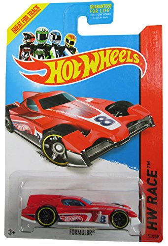 Formul8r '14 Hot Wheels 153/250 (Red) Vehicle