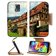 buy Rustic Buildings Cloudy Sky Scenery Samsung Galaxy S5 Sm-G900 Flip Cover Case With Card Holder Customized Made To Order Support Ready Premium Deluxe Pu Leather 5 13/16 Inch (148Mm) X 2 1/8 Inch (80Mm) X 5/8 Inch (16Mm) Msd S V S 5 Professional Cases Acces
