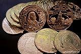 1 Ounce .995 Fine Pure Nickel Bullion Coins