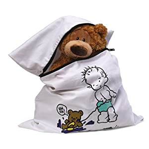 Gund Teddy Needs a Bath Laundry Bag, 21.7