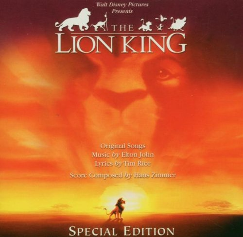 The Lion King [Special Edition] cd cover