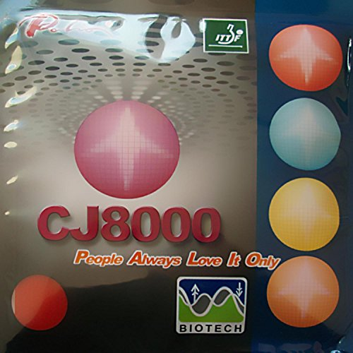 Best Price! Palio CJ8000 BIOTECH 36-38° 2-Side Loop Type Pips In Table Tennis Rubber Sheet