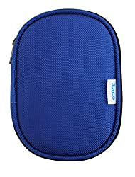 Saco Shock Proof External Hard disk Protector for Samsung M3 Portable 2 TB External Hard Drive (Blue)