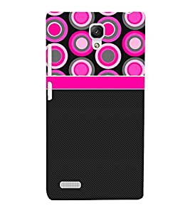 Circle Color Pattern 3D Hard Polycarbonate Designer Back Case Cover for Xiaomi Redmi Note :: Xiaomi Redmi Note 4G