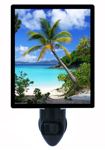 Tropical Night Light - Tropical Bliss - Palm Tree - Led Night Light