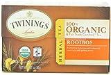 Twinings, Organic Herbal Tea, Rooibos, 20 Tea Bags, 1.27 oz (36 g)