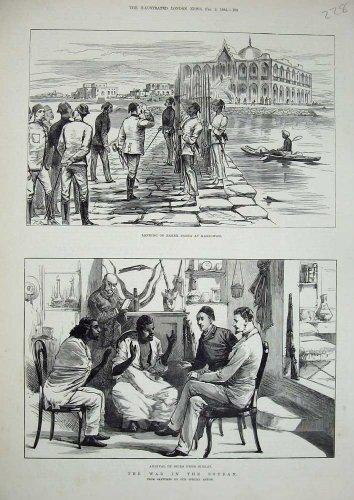 1884 Baker Pasha Massowah Spies Sinkat War Soudan