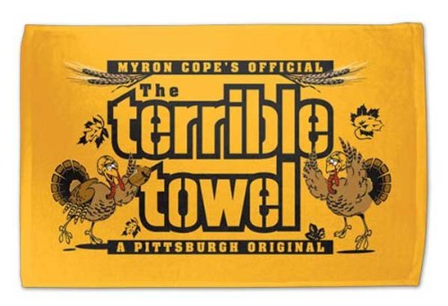 Pittsburgh Steelers Myron Cope's Official Thanksgiving Terrible Towel
