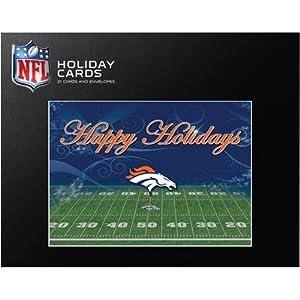 Turner Denver Broncos Team Christmas Cards- 21 Pack by John F. Turner