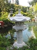 Japanische Steinlaterne auf Säule A