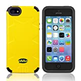 Ahha Action PolyFuse Back Case Cover For Apple IPhone 5S / 5 - Playground Yellow (A-PCIH5-0AE1)