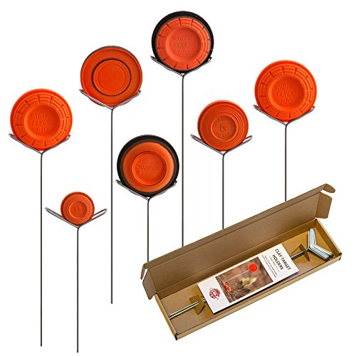 Clay Pigeon Target Holders Pack of 7 - Will Fit Any Clay Targets - Made in Usa (Rifle Steel Shooting Targets compare prices)