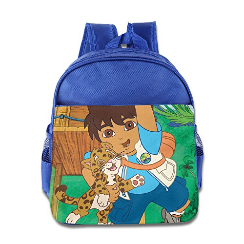 [Go Diego Go Kids School Backpack Bag] (Dora Diego And Boots)