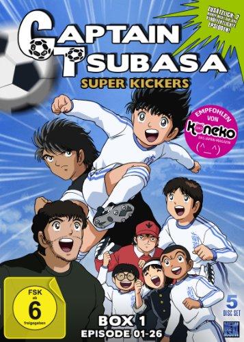 Captain Tsubasa: Superkickers 2006, Volume 1, DVD