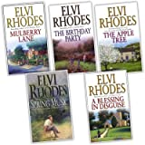 Elvi Rhodes Elvi Rhodes 5 Books Collection Pack Set RRP: £34.95 (The Birthday Party, The Apple Tree, Spring Music, Mulberry Lane, A Blessing in Disguise)