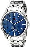 Tommy Hilfiger Men's 1791171 Analog Display Quartz Silver Watch