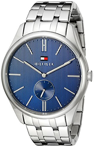 Tommy-Hilfiger-Mens-1791171-Analog-Display-Quartz-Silver-Watch
