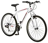 Schwinn High Timber Men's 18 Mountain Bike, 18-Inch/Medium, White