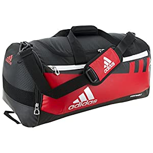 adidas Team Issue Duffel Bag, Scarlet, Large