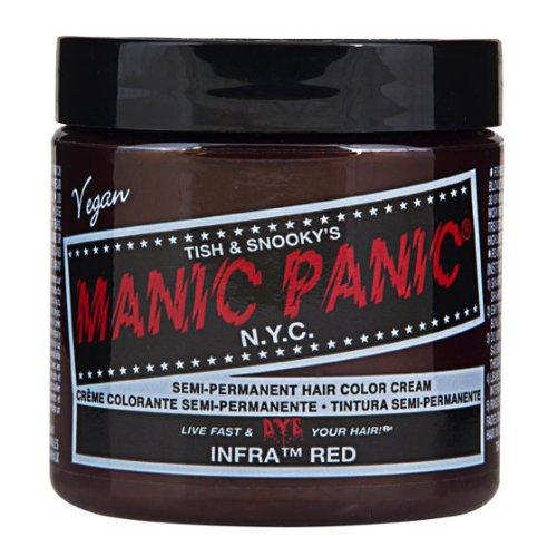 manic panic マニックパニック マニックパニックヘアカラー インフラレッド MC11016 118ml