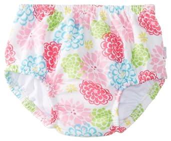 i play. Baby-Girls Infant Ultimate Ruffle Swim Diaper,White Zinnia,4T (3-4 Years)