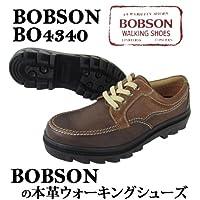 【BO4340安心の日本製BOBSON高級本革ウォーキングシューズ/ビジネス・カジュアル兼用/牛革ビジネスシューズ/スニーカー3色カラー