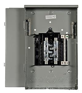 Siemens 8 Space, 16, Circuit, 200 Amp, Main Lug, Outdoor trailer panel Load Center, Copper Bus Bars