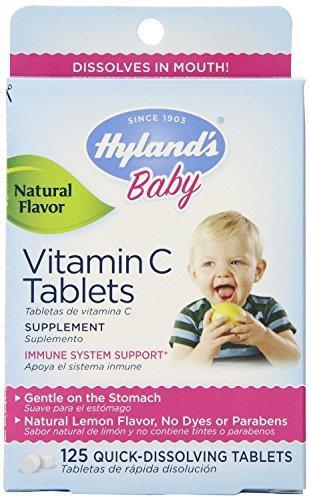 Bébé vitamine C rapide de Hyland dissolution