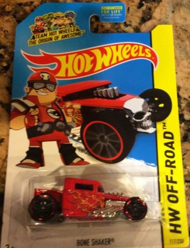 Hot Wheels - 2014 HW Off-Road 117/250 - Bone Shaker (red)