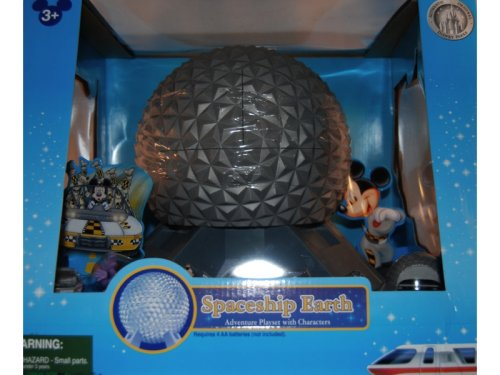 Epcot Spaceship Earth Toy New Disney Monorail Sp...