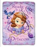 Fleece Throw - Disney - Sofia The First - Ready To Be A Princes 45x60 Blanket