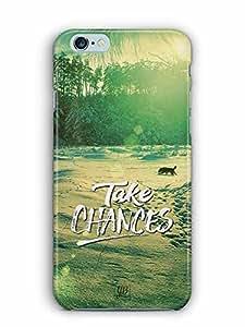 YuBingo Take Chances Designer Mobile Case Back Cover for Apple iPhone 6 Plus