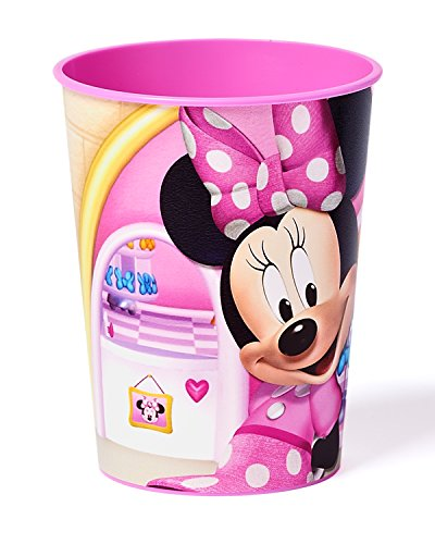 Big Save! Minnie Mouse Bowtique 16 oz Plastic Party Cup, Party Supplies
