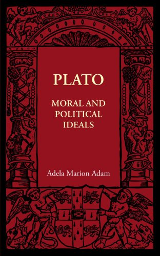 Plato: Moral and Political Ideals (Cambridge Manuals of Science and Literature)
