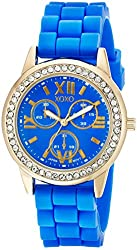 XOXO Women's XO8082 Analog Display Analog Quartz Blue Watch