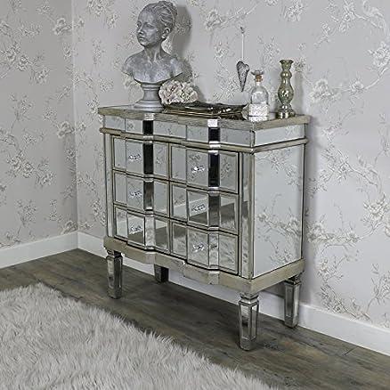 Specchio Classique Range–Cassettiera con sei cassetti