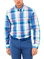 McGregor Camisa Hombre Disty Lowell B Bd Cf Ls (Multicolor)
