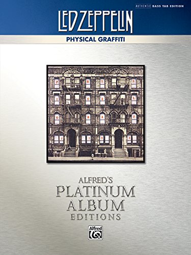 Led Zeppelin -- Physical Graffiti Platinum Bass Guitar: Authentic Bass Tab (Alfred'S Platinum Album Editions)