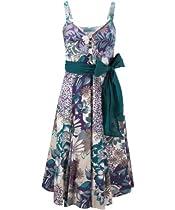 Hot Sale Joe Browns Women's 50's Garden Party Dress Multi (8)