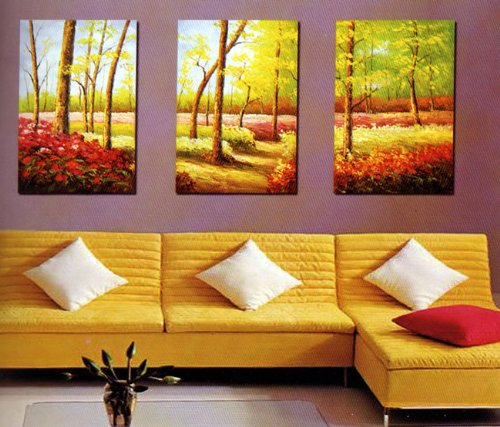 Modern Abstract Art Oil Painting STRETCHED READY TO HANG OPA201