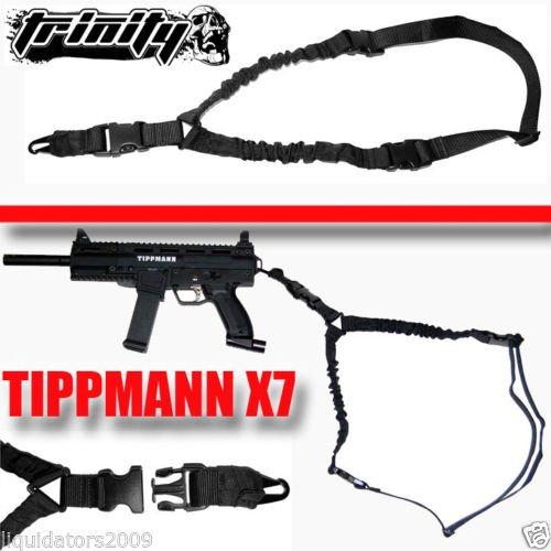 Trinity Cobra Sling Black For Paintball Guns, Tippmann X7 Paintball Gun Sling, Tippmann Phenom Paintball Gun Sling, Tactical Paintball Sling, One Point Sling For Paintball Guns, Tippmann Paintball, Bt Paintball, Rap4 Paintball, Woodsball, Tactical Paintba