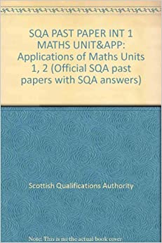 sqa intermediate 1 maths past papers