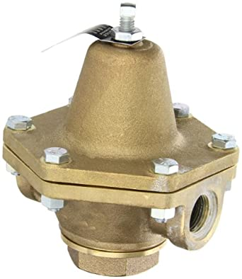 "Cash Valve 1874-0011 Bronze Pressure Regulator, 2 - 20 PSI Pressure Range, 3/4"" NPT Female"