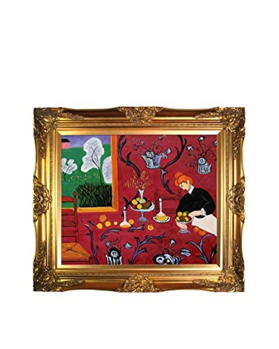Henri Matisse Armonia Rojo Framed Hand-Painted Reproduction