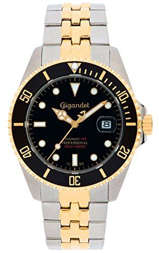 Gigandet G2-016 - Reloj para hombres, correa de acero inoxidable