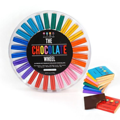 Dylan's Candy Bar Signature Chocolate Wheel
