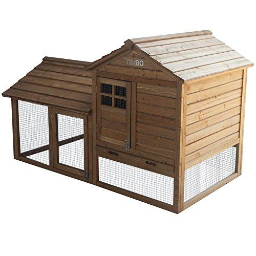 kaninchenstall hasenk fig helen aus holz mit. Black Bedroom Furniture Sets. Home Design Ideas